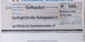 Herzlichen Dank der Volksbank Neckartal